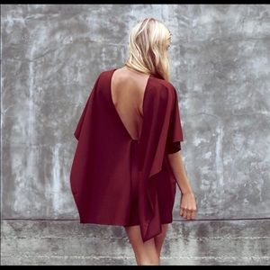 Lulu's | the best is yet to come backless dress